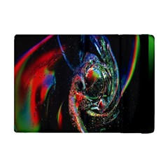 Abstraction Dive From Inside Apple Ipad Mini Flip Case by Simbadda