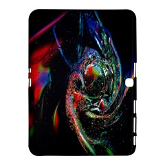 Abstraction Dive From Inside Samsung Galaxy Tab 4 (10 1 ) Hardshell Case  by Simbadda