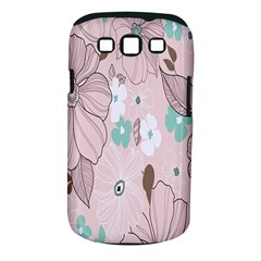Background Texture Flowers Leaves Buds Samsung Galaxy S Iii Classic Hardshell Case (pc+silicone) by Simbadda