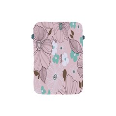 Background Texture Flowers Leaves Buds Apple Ipad Mini Protective Soft Cases by Simbadda