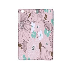 Background Texture Flowers Leaves Buds Ipad Mini 2 Hardshell Cases by Simbadda