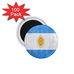 Argentina Texture Background 1 75  Magnets (100 Pack)  by Simbadda