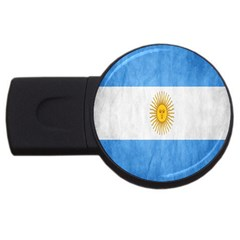 Argentina Texture Background Usb Flash Drive Round (2 Gb) by Simbadda