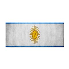 Argentina Texture Background Cosmetic Storage Cases by Simbadda