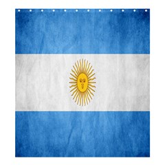 Argentina Texture Background Shower Curtain 66  X 72  (large)  by Simbadda