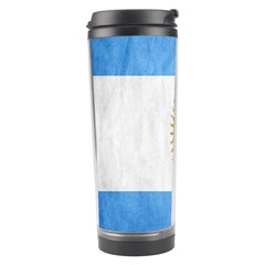 Argentina Texture Background Travel Tumbler by Simbadda