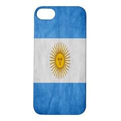Argentina Texture Background Apple Iphone 5s/ Se Hardshell Case by Simbadda
