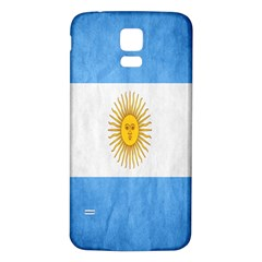 Argentina Texture Background Samsung Galaxy S5 Back Case (white) by Simbadda