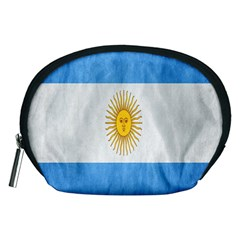 Argentina Texture Background Accessory Pouches (medium)  by Simbadda