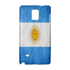 Argentina Texture Background Samsung Galaxy Note 4 Hardshell Case by Simbadda