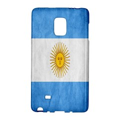 Argentina Texture Background Galaxy Note Edge by Simbadda