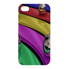 Balloons Colorful Rainbow Metal Apple Iphone 4/4s Hardshell Case by Simbadda