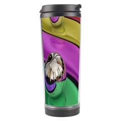 Balloons Colorful Rainbow Metal Travel Tumbler by Simbadda
