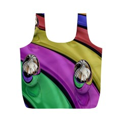 Balloons Colorful Rainbow Metal Full Print Recycle Bags (m)  by Simbadda