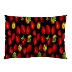 Berry Strawberry Many Pillow Case (two Sides) by Simbadda