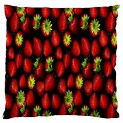 Berry Strawberry Many Large Cushion Case (One Side)