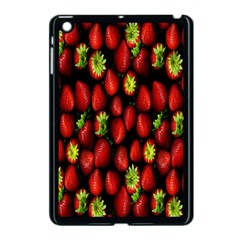 Berry Strawberry Many Apple Ipad Mini Case (black) by Simbadda