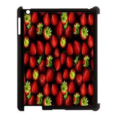 Berry Strawberry Many Apple Ipad 3/4 Case (black) by Simbadda