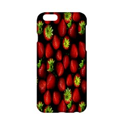 Berry Strawberry Many Apple Iphone 6/6s Hardshell Case by Simbadda