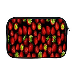 Berry Strawberry Many Apple Macbook Pro 17  Zipper Case by Simbadda