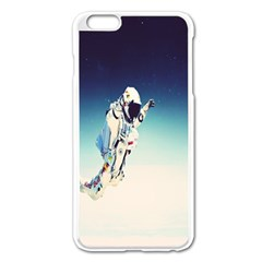 Astronaut Apple Iphone 6 Plus/6s Plus Enamel White Case by Simbadda