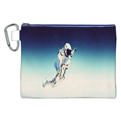 Astronaut Canvas Cosmetic Bag (xxl) by Simbadda