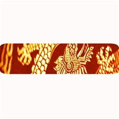 Fabric Pattern Dragon Embroidery Texture Large Bar Mats by Simbadda