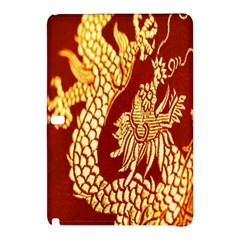 Fabric Pattern Dragon Embroidery Texture Samsung Galaxy Tab Pro 12 2 Hardshell Case by Simbadda
