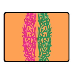 Brian Pink Green Orange Smart Fleece Blanket (small) by Alisyart