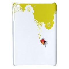 Fish Underwater Yellow White Apple Ipad Mini Hardshell Case by Simbadda