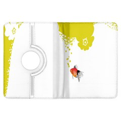 Fish Underwater Yellow White Kindle Fire HDX Flip 360 Case