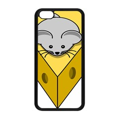 Cheese Mose Yellow Grey Apple Iphone 5c Seamless Case (black) by Alisyart