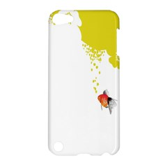 Fish Underwater Yellow White Apple Ipod Touch 5 Hardshell Case by Simbadda