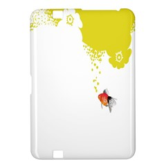 Fish Underwater Yellow White Kindle Fire Hd 8 9  by Simbadda