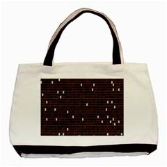 Cubes Small Background Basic Tote Bag by Simbadda