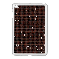 Cubes Small Background Apple Ipad Mini Case (white) by Simbadda