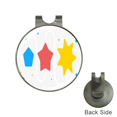 Evolution Jumsoft Star Hat Clips With Golf Markers by Alisyart