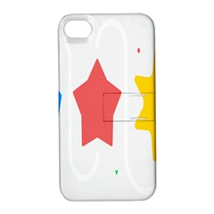 Evolution Jumsoft Star Apple Iphone 4/4s Hardshell Case With Stand by Alisyart
