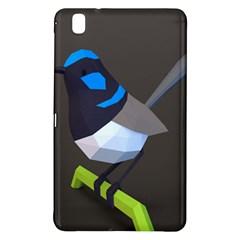 Animals Bird Green Ngray Black White Blue Samsung Galaxy Tab Pro 8 4 Hardshell Case by Alisyart