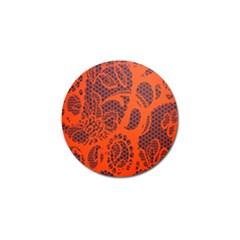 Enlarge Orange Purple Golf Ball Marker (10 Pack)