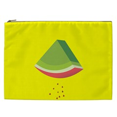 Fruit Melon Sweet Yellow Green White Red Cosmetic Bag (xxl)  by Alisyart