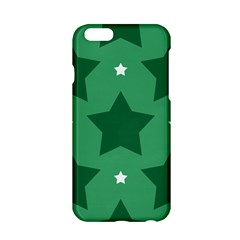 Green White Star Apple Iphone 6/6s Hardshell Case by Alisyart