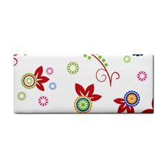 Floral Flower Rose Star Cosmetic Storage Cases by Alisyart