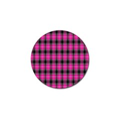 Cell Background Pink Surface Golf Ball Marker (4 Pack) by Simbadda
