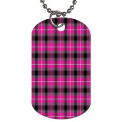 Cell Background Pink Surface Dog Tag (two Sides) by Simbadda