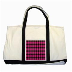 Cell Background Pink Surface Two Tone Tote Bag by Simbadda