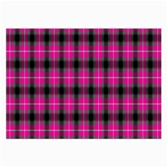 Cell Background Pink Surface Large Glasses Cloth (2 Side)