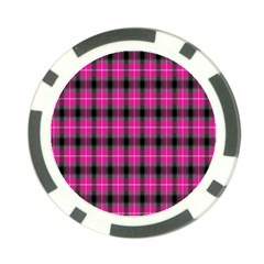 Cell Background Pink Surface Poker Chip Card Guard (10 Pack) by Simbadda