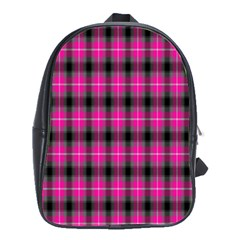 Cell Background Pink Surface School Bags(large)  by Simbadda