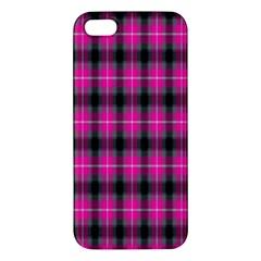 Cell Background Pink Surface Iphone 5s/ Se Premium Hardshell Case by Simbadda